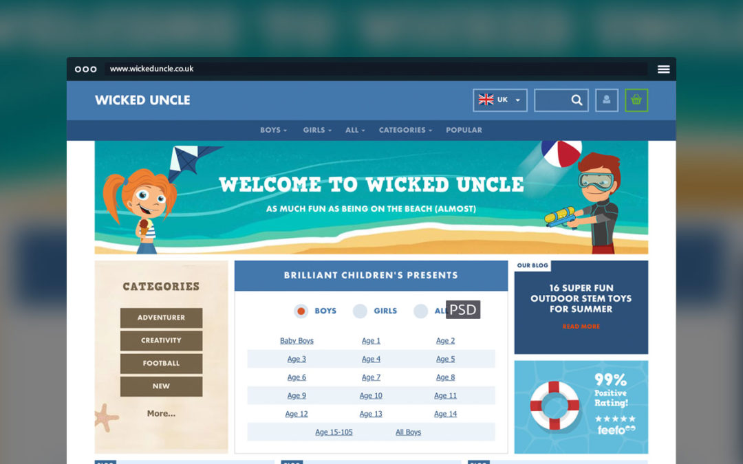 Wicked Uncle Toys and Gifts